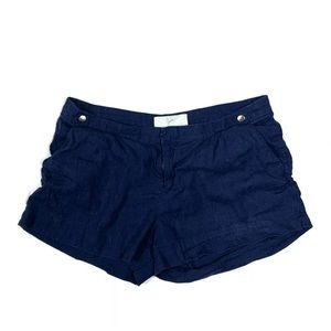 Joie Shorts Casual Navy Blue Size 4 Lightweight